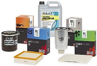 Inspektionspaket Champion Inkl 5l Igat 5w30 Filter Set Öl Luft Pollenfilter Set P C 05 00020 Service Wartung Auto