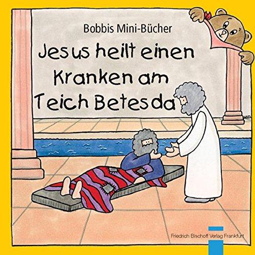 Jesus heilt einen Kranken am Teich Betesda
