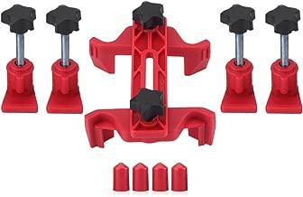 Aramox 9Pcs Car Auto Dual Cam Clamp Camshaft Engine Timing Sprocket Gear Locking Tool Kit