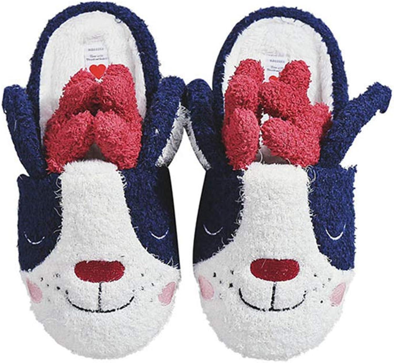 Nafanio Home Cartoon Slippers Women Cute shoes Fur Unisex Indoor Memory Foam Arch Support Bedroom Indoor Flats