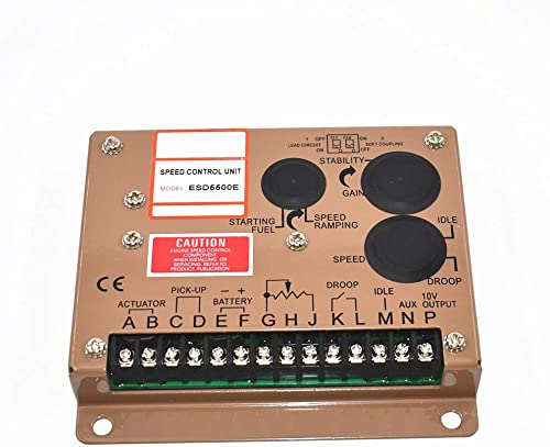 wholesale findmall ESD5500E Electronic Engine Speed Controller outlet sale Governor discount Generator Genset Parts outlet online sale