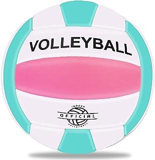 バレーボール ビーチバレー 5号球 スポーツボール ソフト軽量 柔らかい 練習用ボール 初心者 家庭婦人バレー 耐久性 安定性