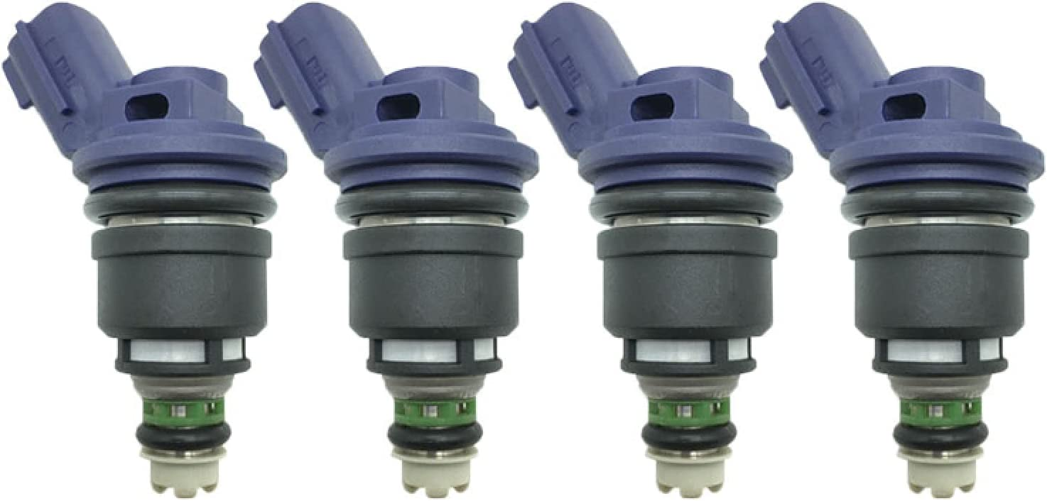 GLLXPZ 4pcs Free Shipping New Lot 16600-67U01 outlet 16600-21U01 Fuel Petrol Car Injector