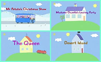 Storybook Collection: Mr. Potato's Christmas Show, Madame Gazelle's Leaving Party, The Queen and Desert Island
