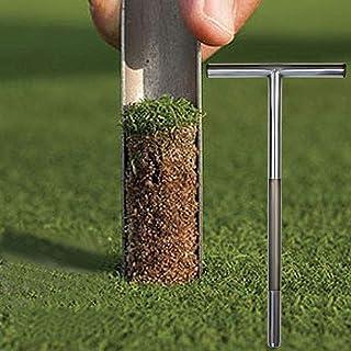 Bodem Sampler-Bodem Probe Met Metalen Tip-Rvs Tubular T-Stijl Handvat-Golf Veld Bemonstering aarde Turf Gazon Onderhoud To...