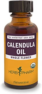 Herb Pharm Certified Organic Calendula Oil - 1 Ounce