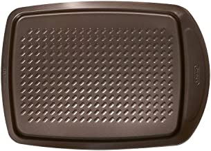 Pyrex Asimetria Non-stick Rectangular Baking Tray, Brown, 39.3cm x 27.8cm x 3.3cm