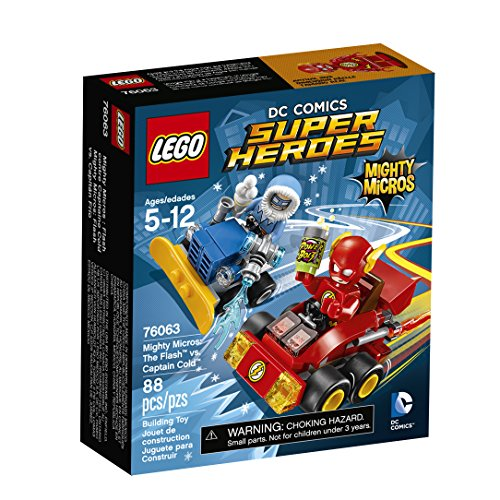 LEGO Super Heroes Mighty Micros: The FlashTM vs. Captain Co 76063 by LEGO