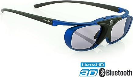 "Hi-Shock RF Pro""Deep Heaven""   3D Glasses for FullHD/HDR /4k Sony & JVC 3D Projector   VPL-HW65ES, 45ES, VW365, VW350, VPL HW54ES, TDG-BT500A, X105-RF-X1   JVC RS 400 etc   PK-AG3, PK-EM2"