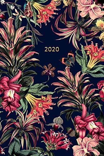 2020: Terminplaner Botanischer Garten - Kalender, Monatsplaner und Wochenplaner für das Jahr 2020 im floralen Design   ca. DIN A5 (6x9\'\'), 150 Seiten ...   für Termine, Notizen und als Organizer