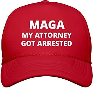 FUNNYSHIRTS.ORG My Attorney Got Arrested: Snapback Trucker Hat