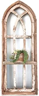Arch Window, Shelf, Farmhouse window, farmhouse decor cathedral window, shabby chic
