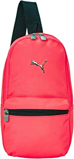 PUMA unisex adult Sling Bag, Pink, One Size US