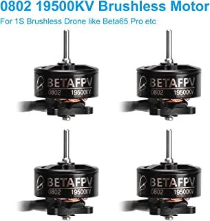 BETAFPV 4pcs 0802 19500KV Brushless Motors for FPV Racing Tiny Whoop 1S Brushless Drone Like Beta65 pro