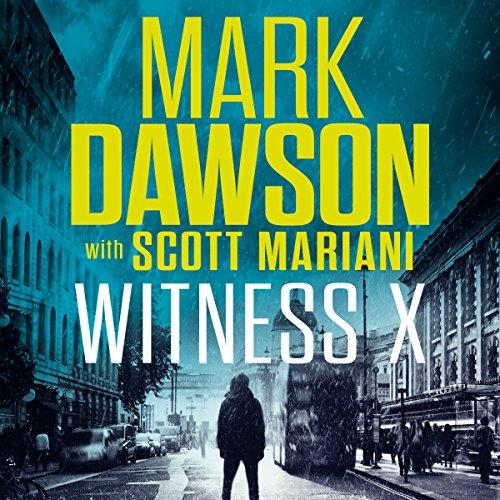 Witness X audiobook cover art