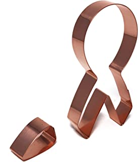 cancer awareness ribbon cookie cutter