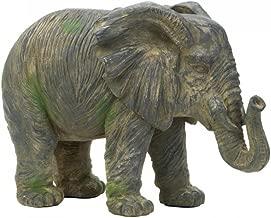 Zings & Thingz 57073420 Large Elephant Statue, Gray