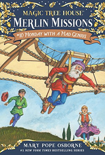 Monday with a Mad Genius (Magic Tree House: Merlin Missions Book 10) (English Edition)