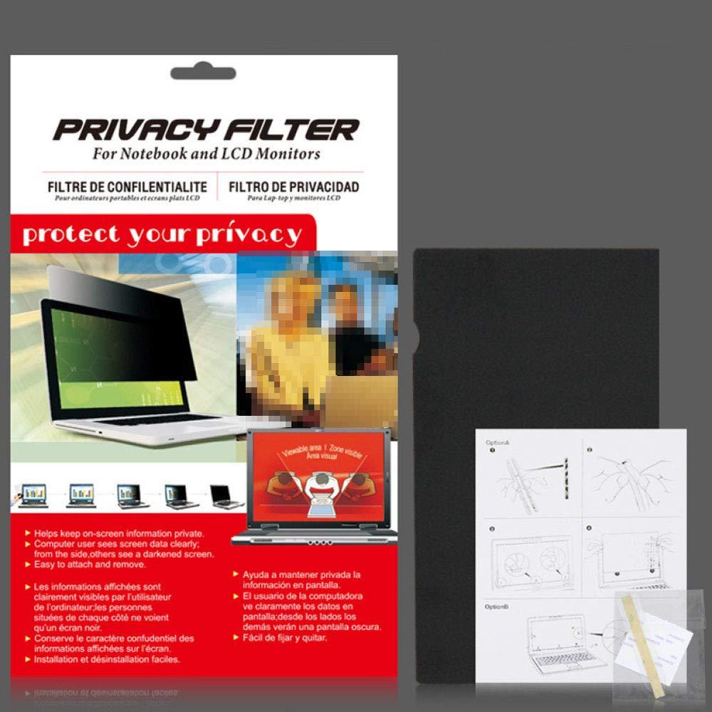 SYDYD Filtro De Pantalla De Privacidad del Equipo - para Monitores De Computadora - Antideslumbrante - Anti-radiación Protección Ocula Fácil De Colocar Y Quitar,12.1inch261*164mm: Amazon.es: Hogar
