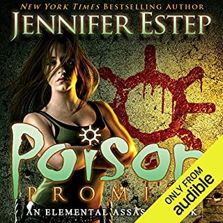 Poison Promise     Elemental Assassin, Book 11              Written by:                                                                                                                                 Jennifer Estep                               Narrated by:                                                                                                                                 Lauren Fortgang                      Length: 11 hrs and 4 mins     Not rated yet     Overall 0.0