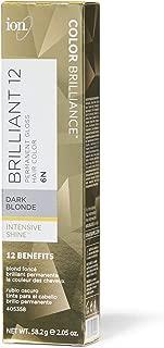 Ion 6N Dark Blonde Permanent Gloss Hair Color 6N Dark Blonde
