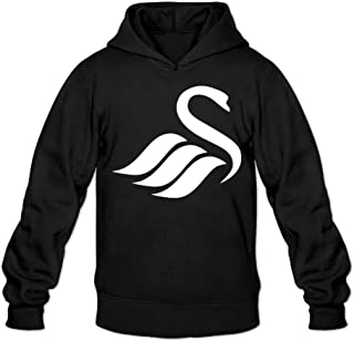 Greenday Men's Hoodies Swansea City AFC Logo Black