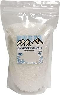 ヒマラヤ岩塩 ミネラルクリスタルホワイト【ミル】 1Kg