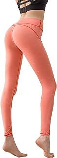 MEESU Womens Yoga Leggings High Waist Tummy Control Yoga Pants Compression Workout Running Leggings