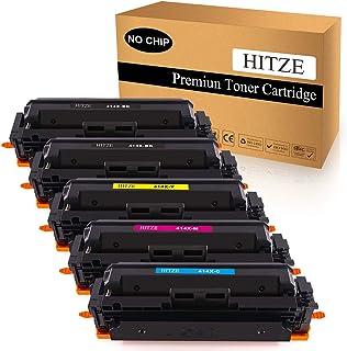 HITZE Compatible Toner Cartridge Replacement for HP 414A 414X W2020A W2020X for HP Color Laserjet Pro MFP M479fdw M479fdn ...