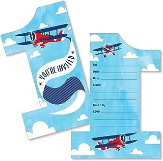 Best airplane 1st birthday invitations Reviews
