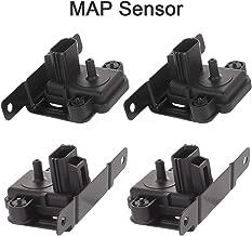 CTCAUTO 4PCS F8UZ-9F479-BA Manifold Absolute Pressure Sensor MAP Sensor Fits for 1998 Ford E-350 Econoline 1998-2002 Ford E-350 Econoline Club Wagon 2000-2001 Ford E-450 Econoline Super Duty