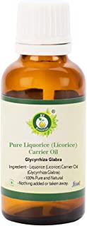 Liquorice Licorice Oil | Glycyrrhiza Glabra | For Skin | Moisturizes Skin | Anti-Aging | For Face | For Body | For Hair | ...