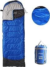 ACTIONMIN Camping Sleeping Bag - 4 Season Lightweight Portable Waterproof Sleeping Bag Great for Cold Weather Camping - Outdoor Activities Hiking, Backpacking, Traveling Sleeping Bag