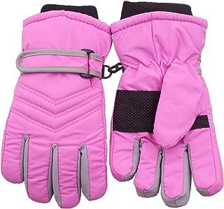 Kid's Boy Girl Fleece Winter Gloves Mittens Non Slip...