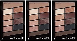 Wet N Wild Color Icon Eyeshadow 10 Pan Palette, Nude Awakening, 0.35 oz /10 g (Pack of 3)
