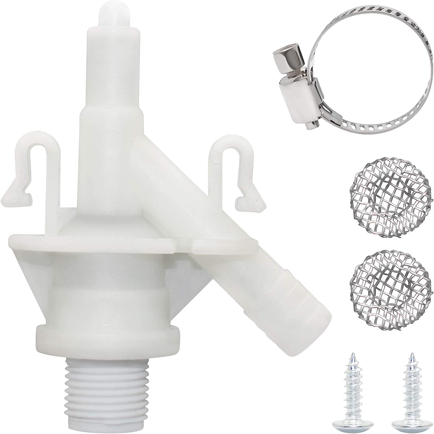 Sikawai Toilet Classic Water favorite Valve Kit with Plastic Durable D Compatible