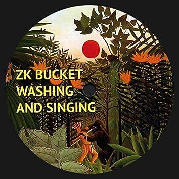 Washing and Singing