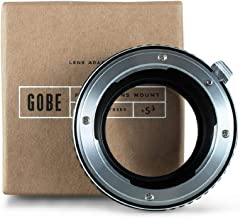 Gobe Lens Mount Adapter: Compatible with Nikon F Lens and Samsung NX Camera Body