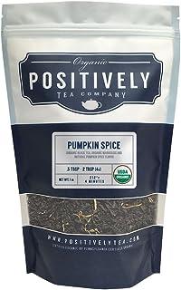 Positively Tea Company, Organic Pumpkin Spice, Black Tea, Loose Leaf, 16 oz. Bag