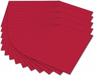Folia Carton Photo 614/5020–300g/m², DIN A4, 50Feuilles, Rouge