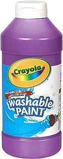 Crayola 繪兒樂 16-oz.可水洗顏料-紫色 54-20167040