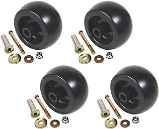 Four (4) Deck Wheel/Roller Kit for Kubota Exmark Toro 103-7263 103-4051 103-3168