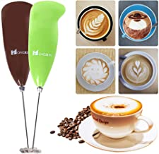 Amerryllis Handheld Electric Coffee Milk Egg Beater Whisk Frother Mixer Foamer Stirrer Whisk for Coffee Milk Drink Kitchen Tool