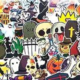 BBKB Pegatina de papelería de Demonio de Halloween Pegatinas Decorativas Pegatina de decoración de álbum de Recortes 50 unids/Set