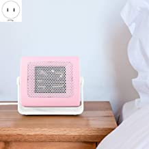 Yuan Dun'er Calefactor Aire Caliente y Frio,Mini Ventilador eléctrico portátil Calentador de Espacio Invierno cálido Escritorio de Oficina en casa