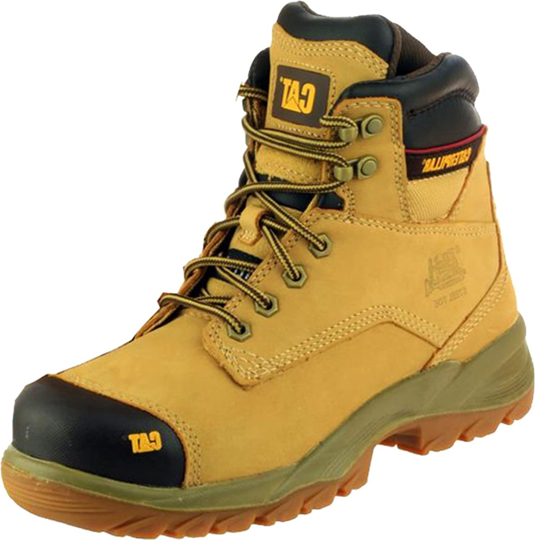 New Catepular Spiro Mens Mens Mens Footwear Rubber Sole Trek King skor Man Lace -Up Boot  Lagra