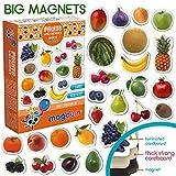 magdum Fruits&Baies Magnets Photos réalistes Enfants – Magnets frigo pour Les Tout-Petits – Jouets Enfant 3 Ans – Aimants Enfants éducatifs Tout-Petits – Magnets Enfants théatre magnétique