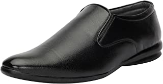 Bachini Formal, Semi-Formal Synthetic Leather Shoe for Men Available in Black and Brown (Slip on) [1592]