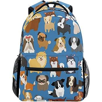 Cute Santa School Bookbags Computer Daypack for Travel Hiking Camping Laptop Backpack Boys Grils