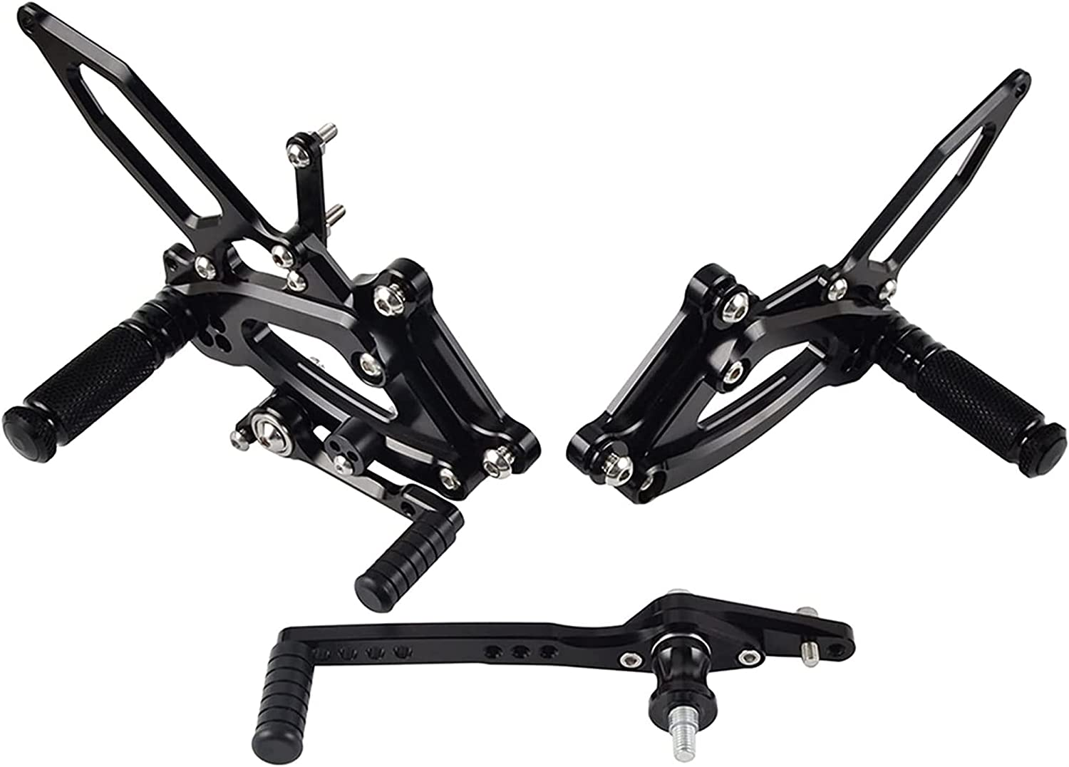 SJZC Ranking TOP4 Motorcycle CNC Foot Pegs Rearset Rear Racing Footpeg A Sets Large discharge sale